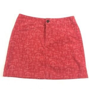 🍁 Vineyard Vines Corduroy Anchor Skirt